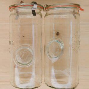 Fermentier-Gläser 4er-Set – 1 Liter