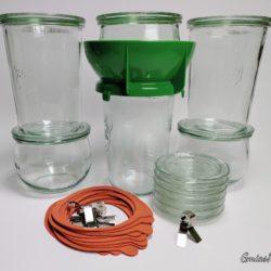 Fermentier Gläser 6er Mix-Set